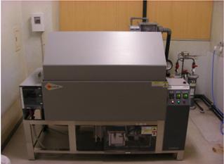 塩水噴霧試験機(スガ試験機株式会社製) 型式:STP110